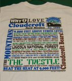 Why I Love Cloudcroft T-Shirt