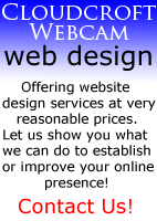 Cloudcroft Webcam Web Design